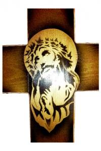 """Крест деревянный """"Ритуал"""""""
