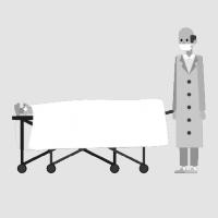 Перевозка покойного в морг с выносом тела