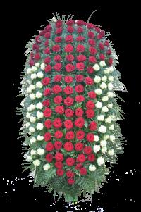 """Венок из живых цветов """"Розы"""""""